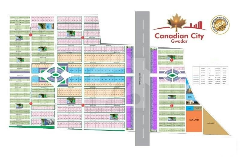 Canadian City Map