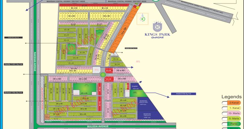 Kings-Park-Gwadar-3 map